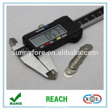 D10*0.6mm thinner disc shape NdFeB magnet