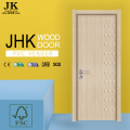 JHK-Double Wing Door Flush Wood Door Dormitorio Puerta Diseños India