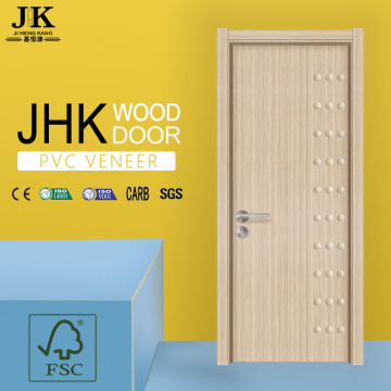JHK-Double Wing Door Flush Wood Door Bedroom Door Designs India