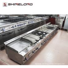 Fabrik-Versorgungsmaterialien 600 Reihen-Küchen-Ausrüstung elektrischer Teppanyaki-Bratpfanne