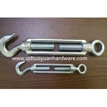 China Manufacture Carbon Steel Galvanized Us Type Turnbuckle/Fastener