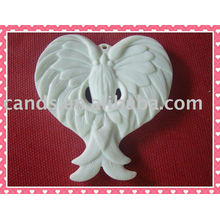 Décoration suspendue en céramique de style d'ange