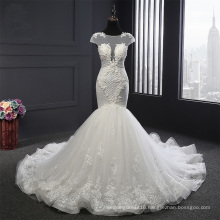 New Arrival Applique Mermaid Bridal Wedding Dress
