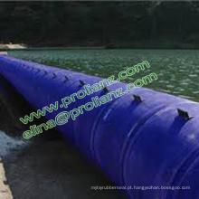Barragem de bexiga de borracha personalizada para Singapura