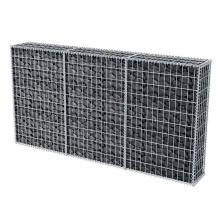 Easy installation galvanized welded iron wire mesh welded gabion wire mesh box with 75 x 75mm