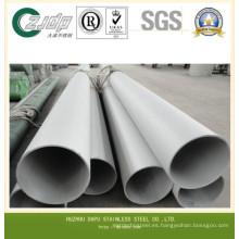 Tubo sin costura de acero inoxidable ASTM 316L de alta calidad