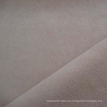 Tela de tapicería de sofá de terciopelo de poliéster imitación gamuza