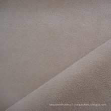 Tissu d'ameublement canapé velours polyester suédine