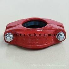 Accouplement cannelé de moulage de précision d'acier inoxydable (coulée de cire perdue)
