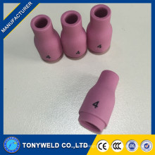 Tig cups ceramic nozzle for tig welding torch 13N08