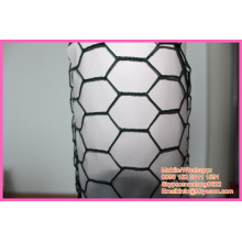 "BWG 16 1"" vinyl coating galvanized hexagonal cage chicken wire netting"