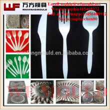 knife fork spoon mould manufacturer in china/china supplier production knife fork spoon plastic injection mold