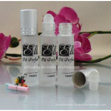 10ml Frosted Perfume Glass Roll on Bottle with Logo