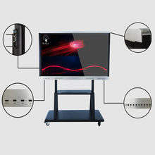 86 Inches Interactive Panel With Mobile Stand