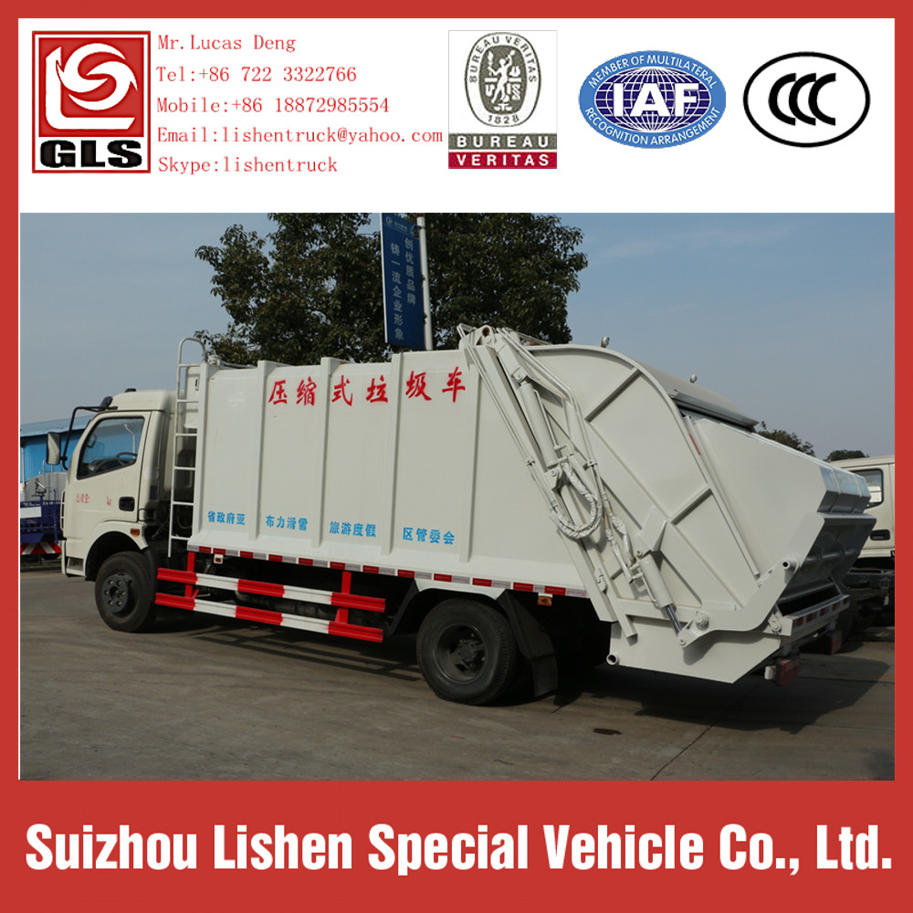 Garbage Compactor Truck Dongfeng Compression Vehicle