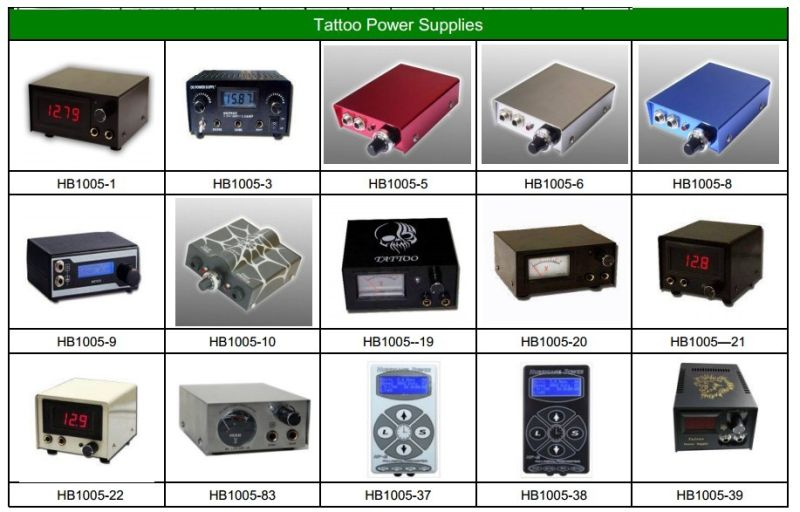Classical Mini Tattoo Power Supply