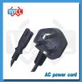 Factory Wholesale British AC cordon d'alimentation pour ventilateur électrique