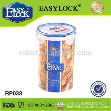 EASYLCK luftdicht Kunststoff Honig Glas 1000ml