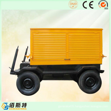 Trailer Portable 375kVA300kw Electric Diesel Engine Power Generating Sets