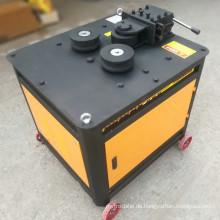 Dauerhafter Qualitätsstahlstangenbogen gebogene Kreisbiegemaschine