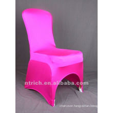hot pink colour,lycra chair cover CTS695,fancy and fantastic,cheap price but high quality