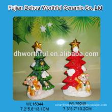 Ornement en polyresine de style nouveau 2015 avec design de singe pour décoration de Noël