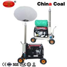 Mo-1200q Outdoor Mobile Generator Torre de iluminación solar portátil