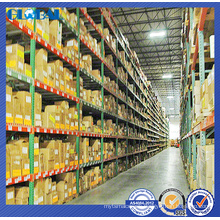 Multi-level logistic storage rack for North America/RMI Certificate Teardrop Rack