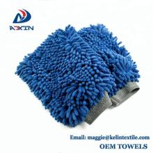 Mitaine magique automatique de lavage de voiture de microfiber de Chenille pour le nettoyage