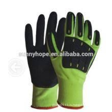13gauge Нитриловые песчаные ударные перчатки с TPR