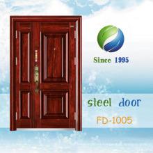 China El más nuevo desarrolla y diseña la sola puerta de seguridad de acero (FD-1005)