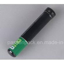 Tubo de charuto de alumínio portátil com tampa de parafuso (PPC-ACT-023)