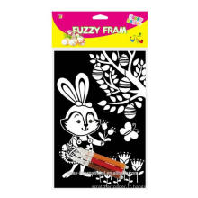 Décoration de Pâques joyeuse Pâques Fuzzy Poster