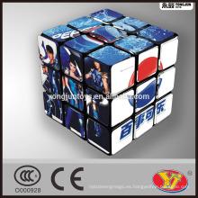 Cubo mágico del rompecabezas del OEM de la marca de fábrica famosa de Pepsi Alta calidad modificada para requisitos particulares para el anuncio promocional y