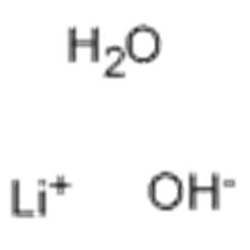 Lithium hydroxide monohydrate CAS 1310-66-3