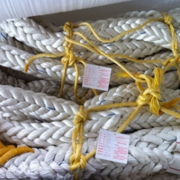 Polyester rope 80mm with Splice eyes