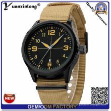 Yxl-313 нейлоновая лента или ремешок Top Sell Нержавеющая сталь Смотреть календарь Дата Casual Dw Стиль Спортивные часы для мужчин Мужчины
