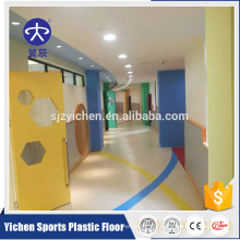 Professional pvc roll flooring vinyl for kindergarten and kids room