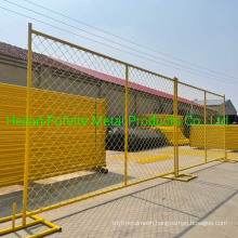 Chain Link Construction Temp Fence for Sale 10′ X 6′