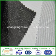 Hot sale 2015 polyester nonwoven fusible interlining most popular in turkey,thailand,bangladesh,vietnam country