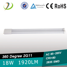 18W UL 2G11 led tube
