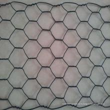 Malla de alambre hexagonal sumergida caliente galvanizada