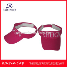 wholesale custom design ladies golf visor