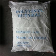 Resina polivinil butiral para adesivo de vidro de pintura