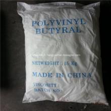 Résine polyvinylique de butyral pour l'adhésif de verre de peinture