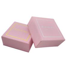 Aangepaste kleine oorbellen roze sieraden doos
