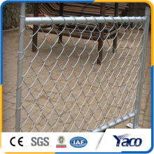 Hengshui 3.15mm galvanized wire temporary chain link fence, temporary metal fence panels