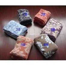 Polyester Decke gestrickte Decke (PB-K30804)