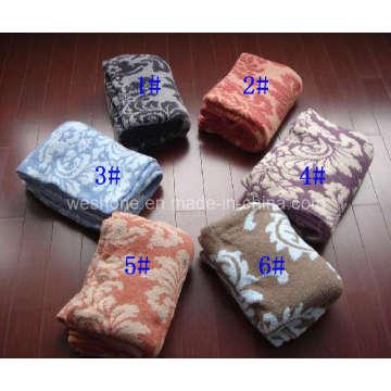 Polyester Blanket, Knitted Blanket (PB-K30804)