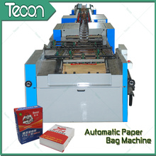 Emballage entièrement automatique de sac de papier